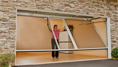Lifestyle Screens for Garage Doors