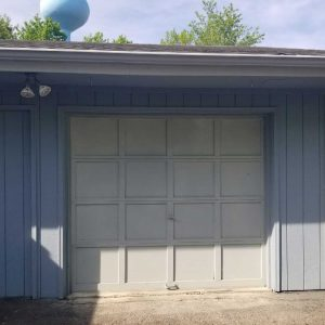 Old Garage Before Being Revamped by Garage Doors Plus, LLC